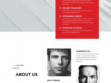 Website Design and Development for Architectural Engineering