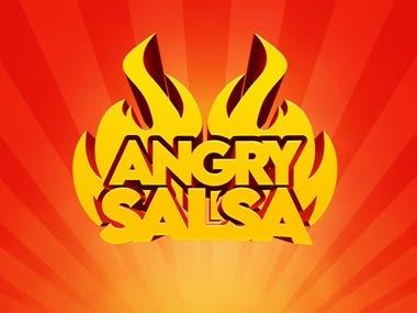 Angry Salsa Logo