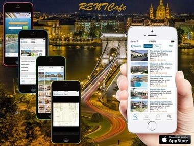 This is the real estate App for iOS and Android.
