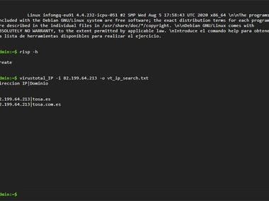 Web terminal and Email validation using PHP.