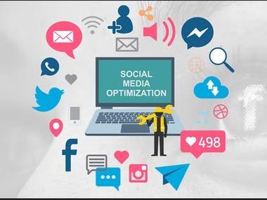 Social media optimization services Boost your website presence