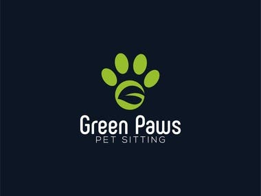green paws