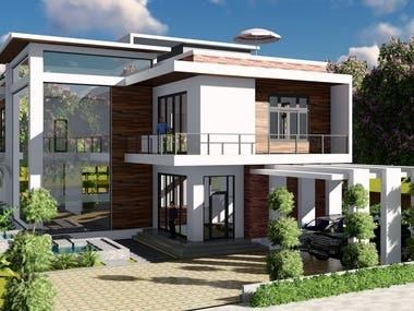 Best hotel modeling & realistic rendering