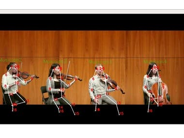 This project is to detect the pose of each person in the video stream using OpenPose and estimate their own average motion.