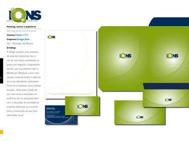 Corporate Identity for an Information Technology company.