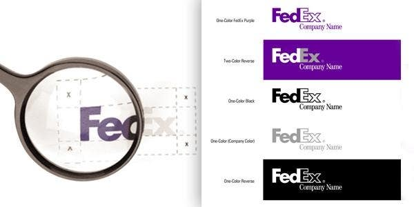 FedEx brand guidelines