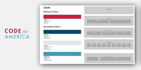 Code for America brand guidelines