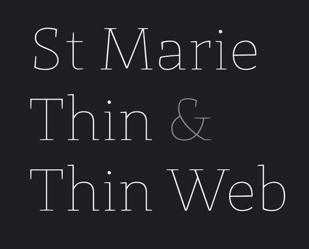 St Marie font