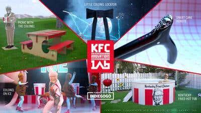 KFC Remote Control contest ad