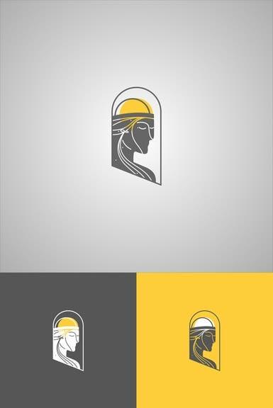 Grey Face with Yellow Helmet Logo