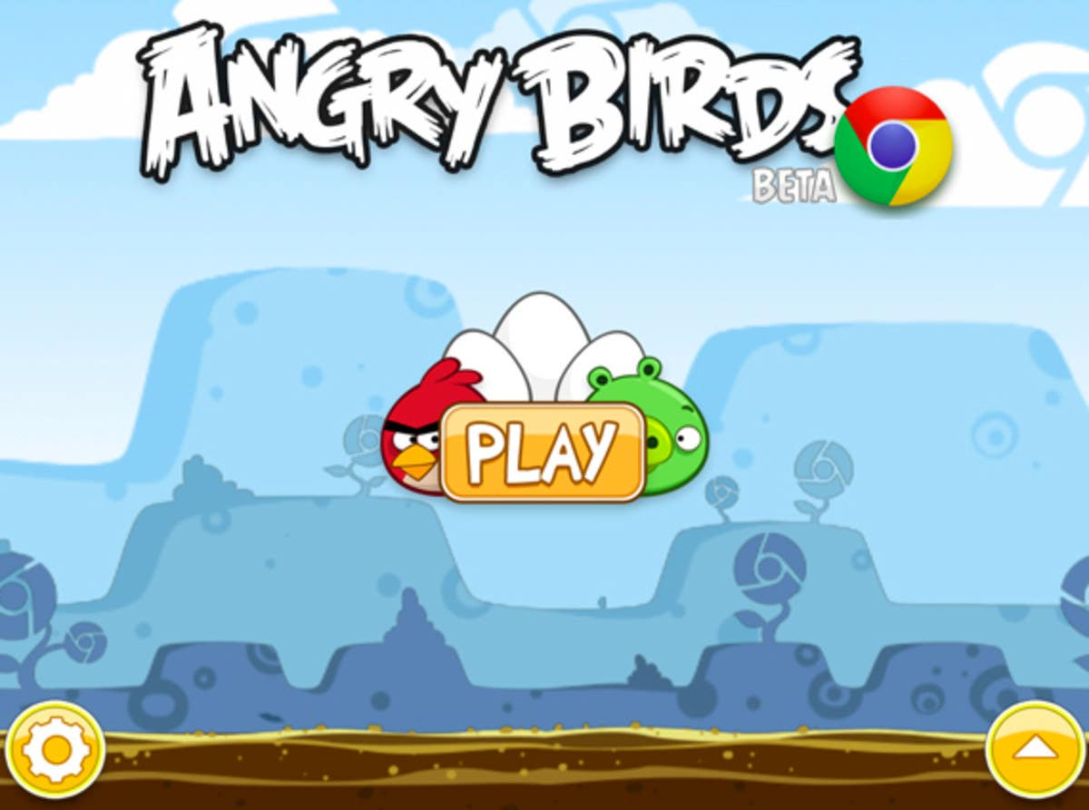 Angry Birds Chrome game image