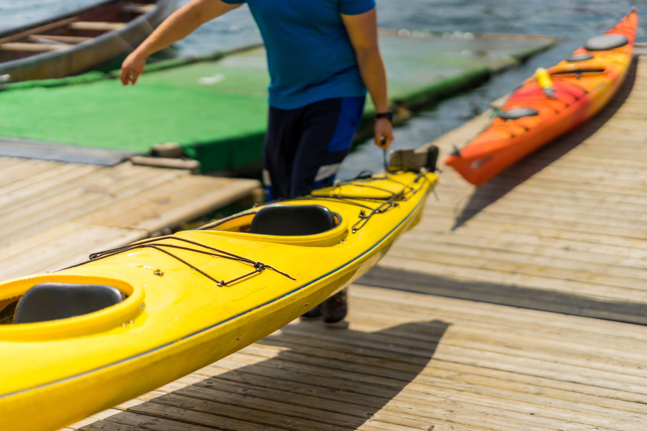 Fiberglass kayaks