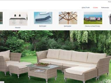 I created some furniture store website with fully responsive and used by Html 5 and asp.net  www.ertonga.com