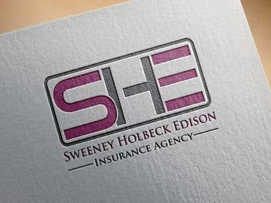 We are an independent insurance agency in need of a logo. We are a small agency with 3 employees, we are all women and the agency initials are SHE. Looking for something that includes the initials SHE. The agency has been in the area since the 1970's, we offer auto, home, farm, life, and business insurance. The logo that we choose will be going on bottle and/or can coolies for us to hand out to the community at local events.