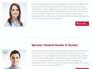 Newsletters / Templates Samples\n\nAm  a reliable, professional, result oriented Newsletter /  Template Designer.\n\nskyp==> adnanbahrian