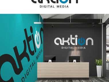 LOGO DESIGN TO ACTION DIGITAL MEDIA COMPANY