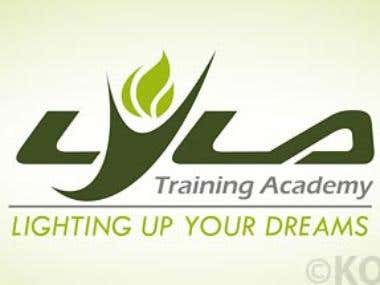 Identity Design & Branding for Lyla Training Academy. An english speaking and personality development institute. http://www.koolstudios.org/queryblog.aspx?bpi=26