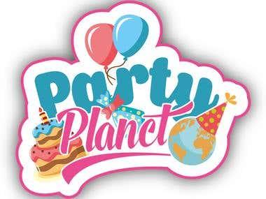 Party Planet logo :)