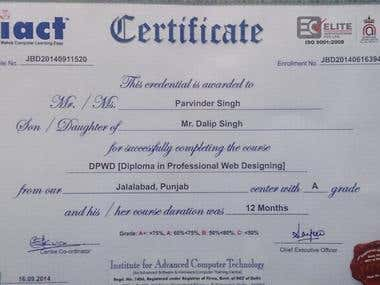 This is my DPWD Certificate.