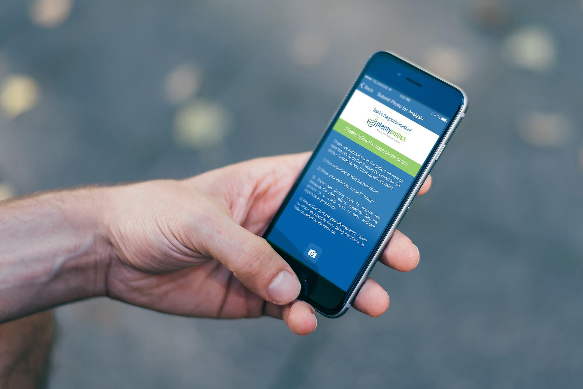 App Concept for Dental Clinic