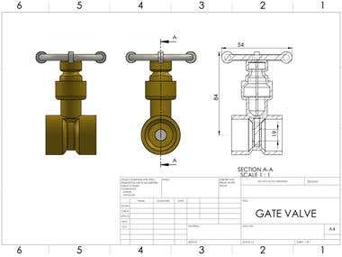 3D DRAWING FROM CAD SOFTWARE FOR PPT PURPOSE