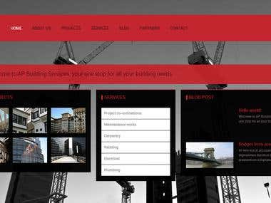 The stylish wordpress responsive design, created complete wordpress site. http://apbuildingservices.com.au