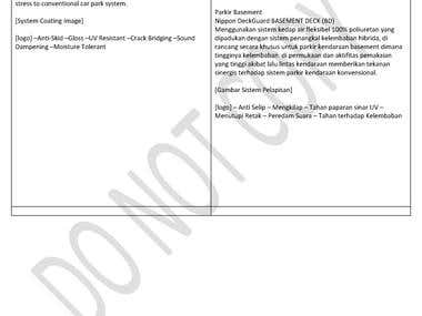 Translate English to Bahasa Indonesia, marketing brochures for Nippon Paint