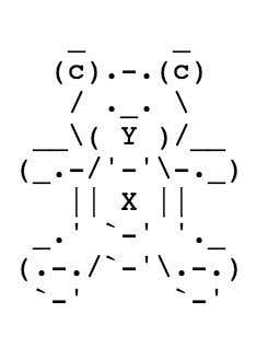ascii bear