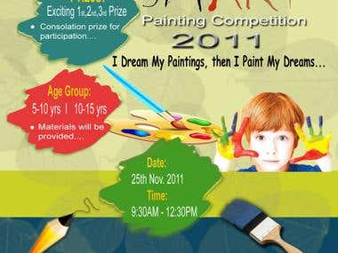 painting poster design