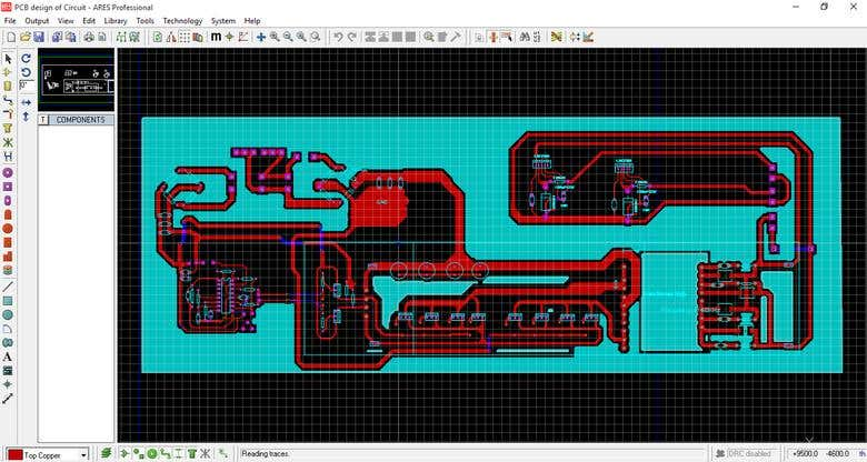 PCB design of Switch Mode Power Supply for High Frequency