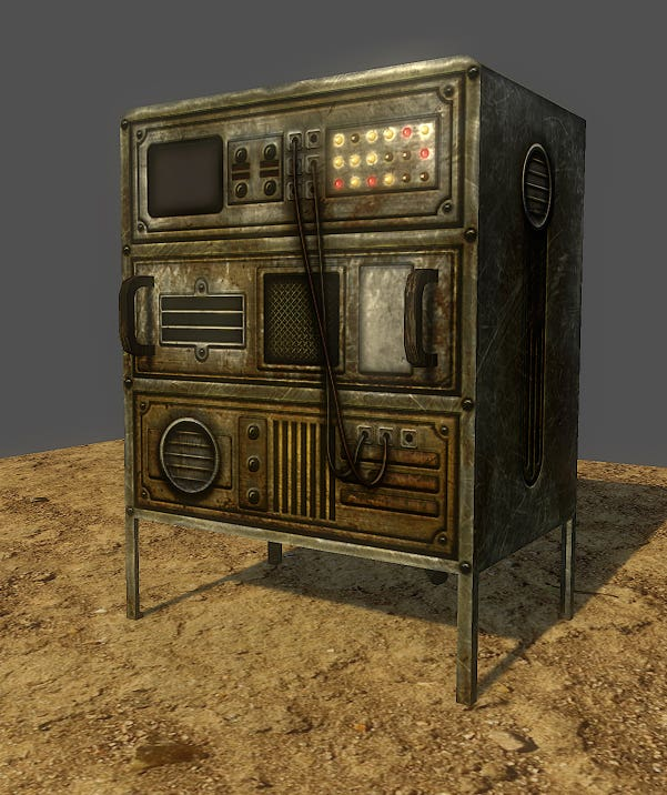 Some examples of 3D models I created for video games.