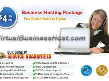 bestbusinesshost.com partner site virtual business host web banner advertisment