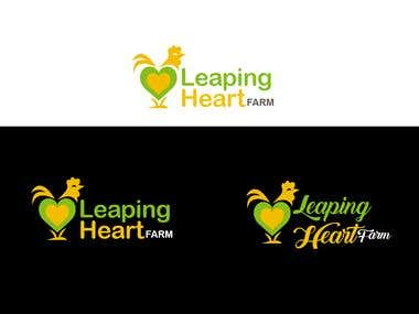 Leaping heart logo