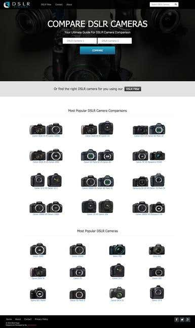 DSLR Website - DSLR Finder