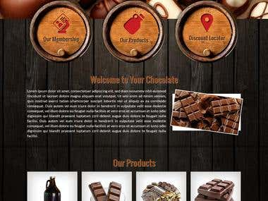 Online sell their chocolate products