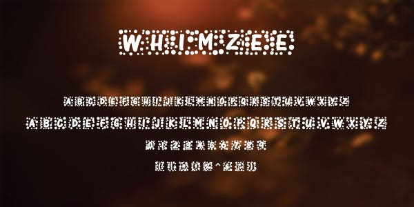 Whimzee Free Font