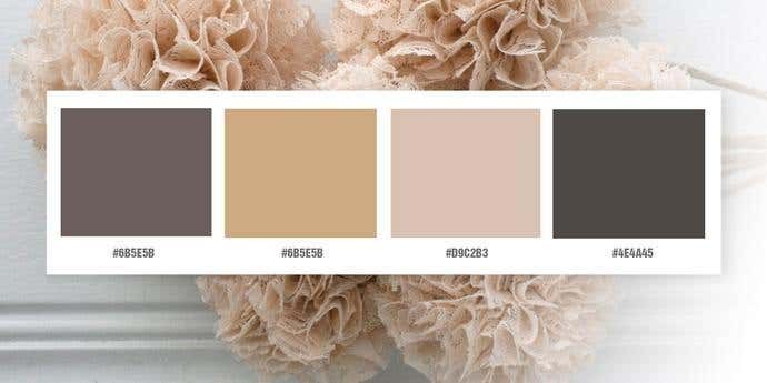 Shabby Chic Neutrals Color Palette