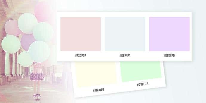 Pastel Extremist Color Palette