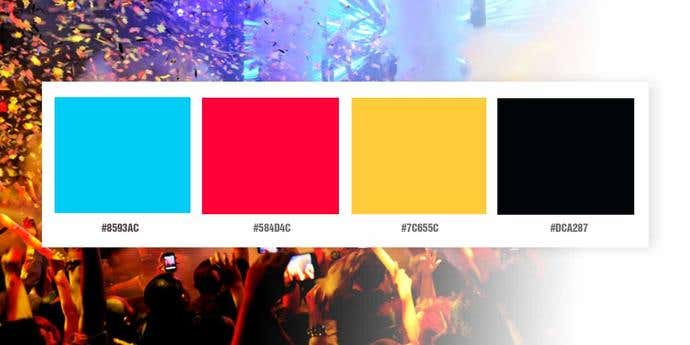 Nightlife Color Palette