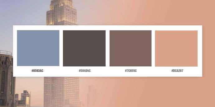 Cosmopolitan Color Palette