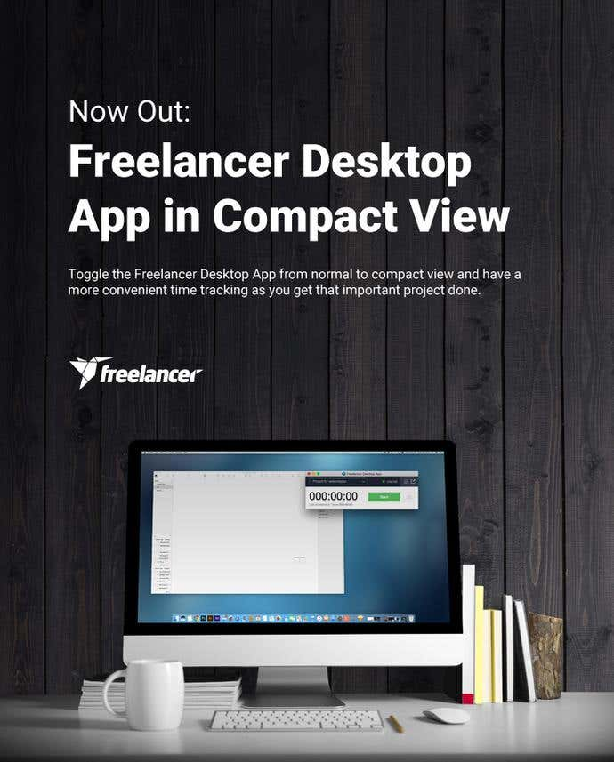 Out Now: Freelancer Desktop App in Compact View - Image 1