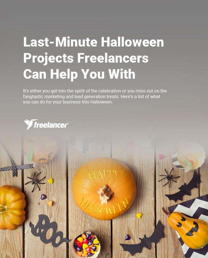 Last-Minute Halloween Projects Freelancers Can Help You With - Image 1