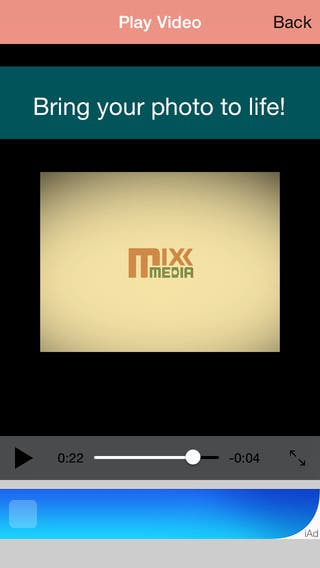 MixxMedia is the first and only way to bring both photos and videos together to simply share with friends and family.