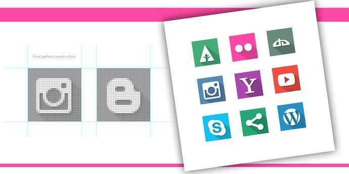 40 Social Media Flat Icons.jpg