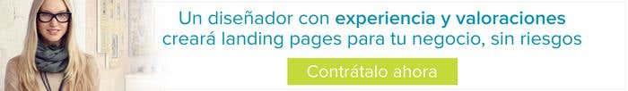 Diseñador landing pages sin riesgos contratar