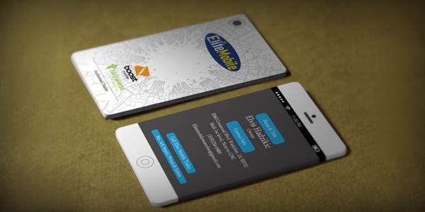 60 modern business cards to make a killer first impression mobile design for modern business card colourmoves