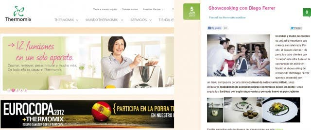 blog thermomix corporativo