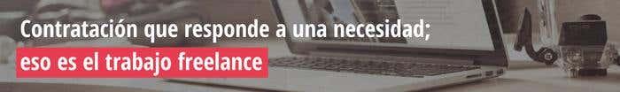 Trabajo freelance banner intext