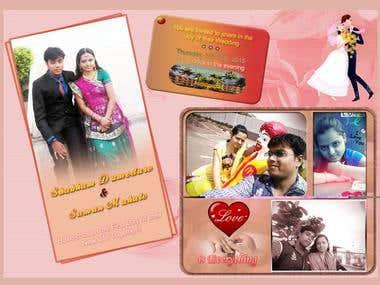wedding card/business card/banner/etc