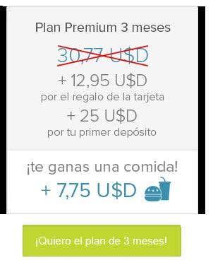 Comparativa premium payoneer 3 meses